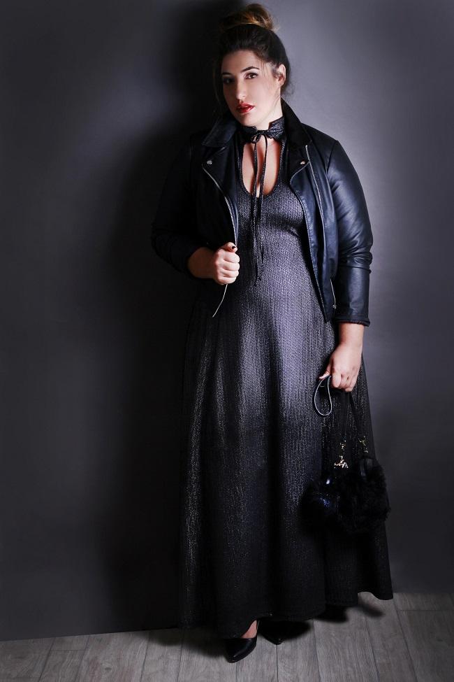 Shani Klein + Queen Size. Simcha dress 599 Ils. Photo Sally Ben-Arie (8)