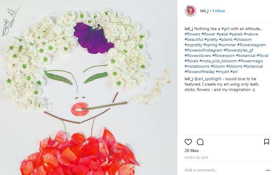 הללי ג'בוטינסקי בפרחים אדומים