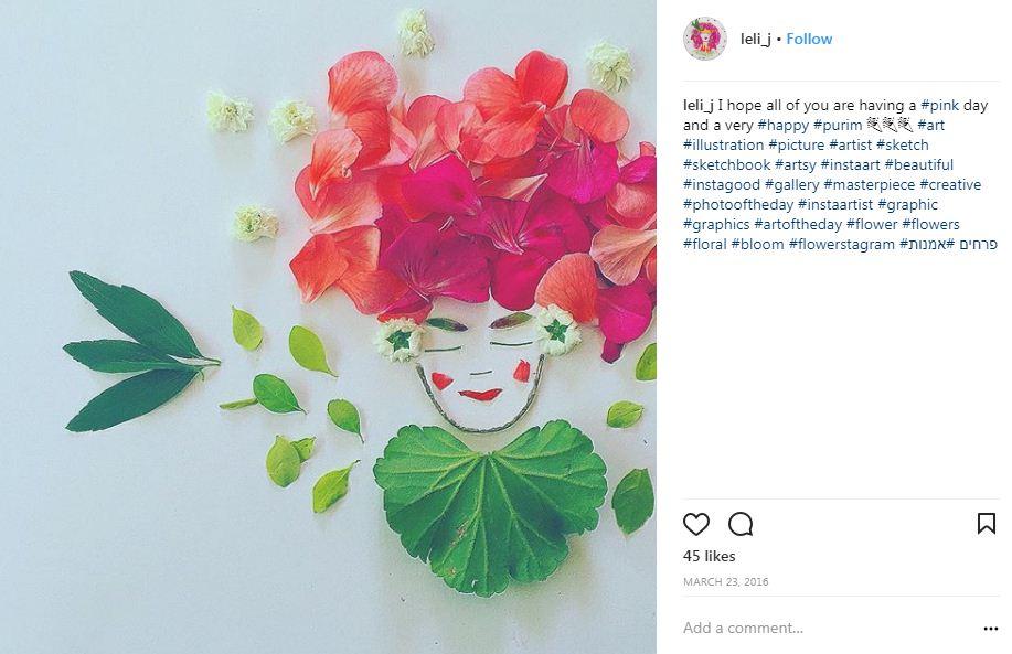 הללי ג'בוטינסקי פרחים
