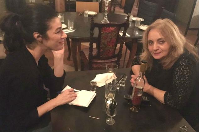 יסמין לוי ולאה מסעדת שותא צילום אלבום פרטי