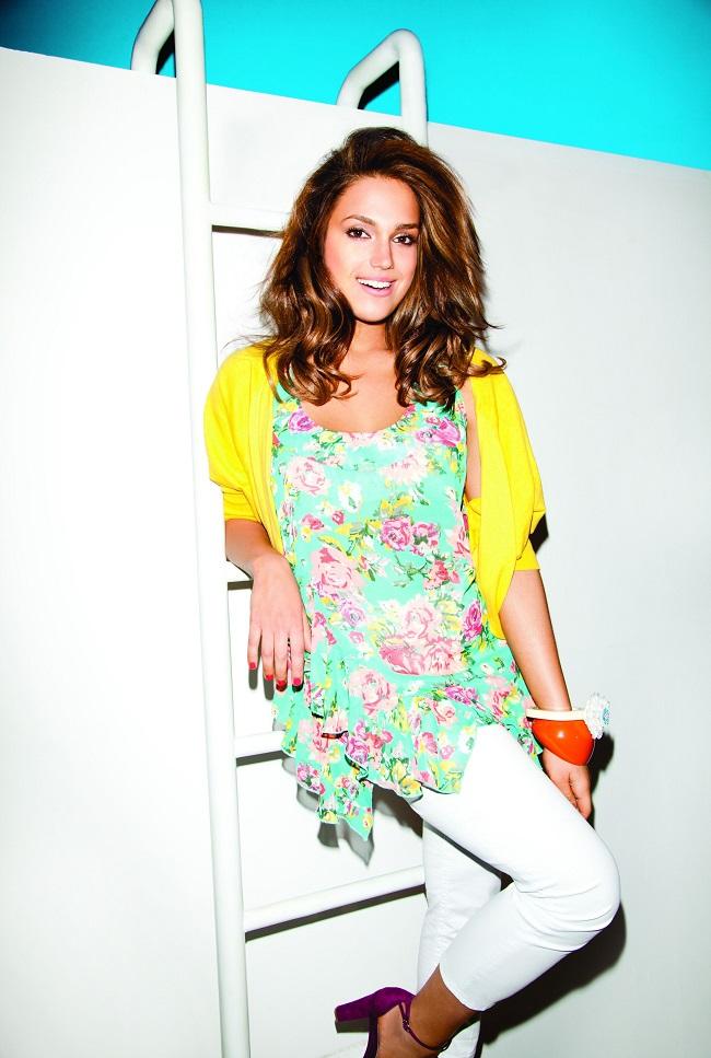 מרינה מקסימיליאן בלומין לקמפיין קיץ 2014 של עונות_צילום דודי חסון