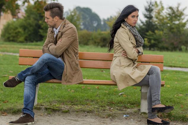 זוג מנותק צילום:  Lisa S שאטרסטוק
