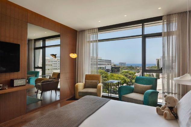 חדר מלון פאבליקה צילום: יחצ