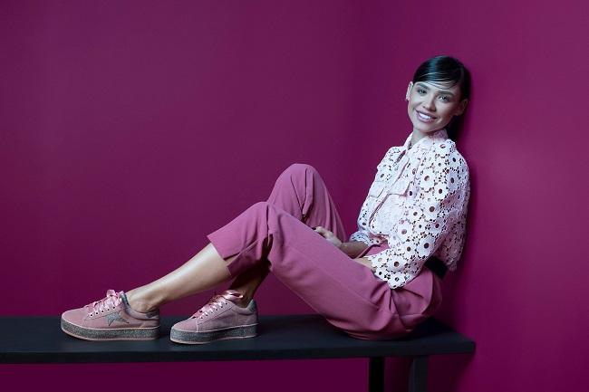 רוסלנה רודינה פרזנטורית נעלי סקופ קמפיין חורף 2018 צילום עידו לביא