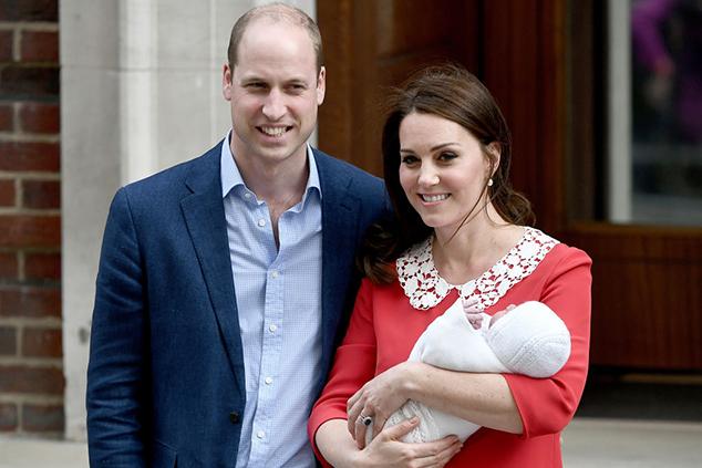 קייט מידלטון, הנסיך ויליאם והתינוק החדש (Gareth Cattermole/Gareth Cattermole/Getty Images)