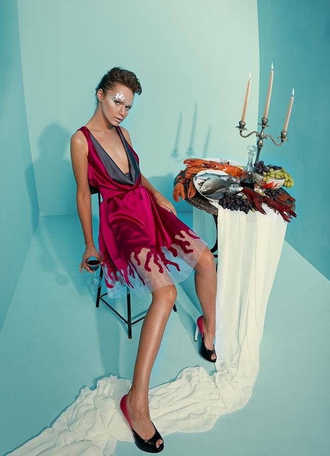 מאור צבר שמלת קורל פוקסיה 2000 להשכרה שח הד פיס500 להשכרה צילום הילה שייר