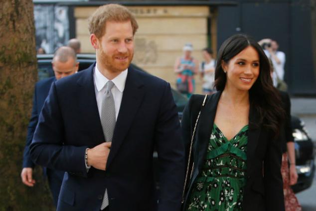 מייגן מרקל והנסיך הארי (צילום: Alastair Grant - WPA Pool / Getty Images)