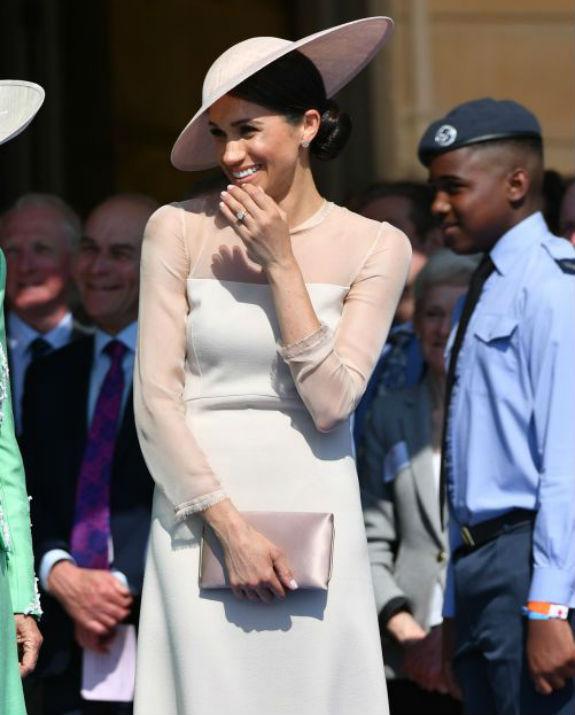 מייגן מצחקקת צילום: Chris Jackson/Chris Jackson/Getty Images