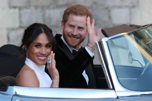 מייגן מרקל והנסיך הארי צילום: Steve Parsons - WPA Pool/Getty Images