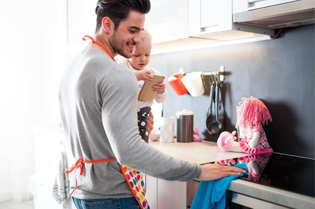 חלוקת מטלות הבית והילדים יכולה לעזור (צילום: שאטרסטוק / Leszek Glasner)