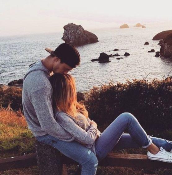 זוג ביחד אוהב צילום אינסטגרם