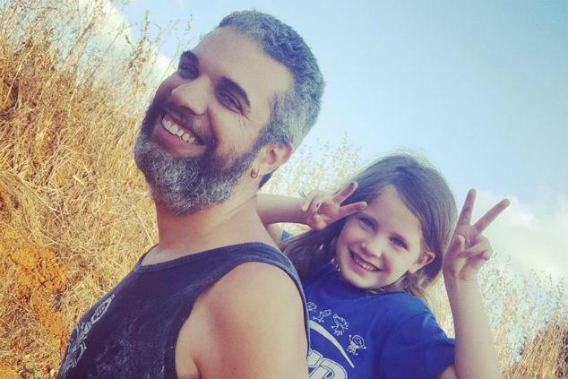 רועי בן יוסף ובתו איימי צילום אלבום פרטי