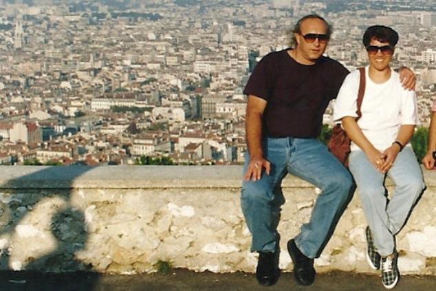 עדנה וראובן צילום אלבום פרטי