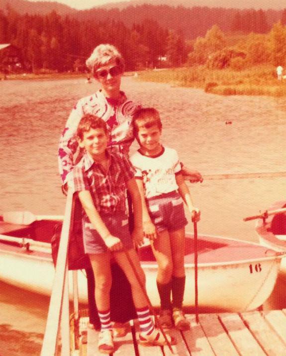 שי גולדן ומשפחתו צילום אלבום פרטי