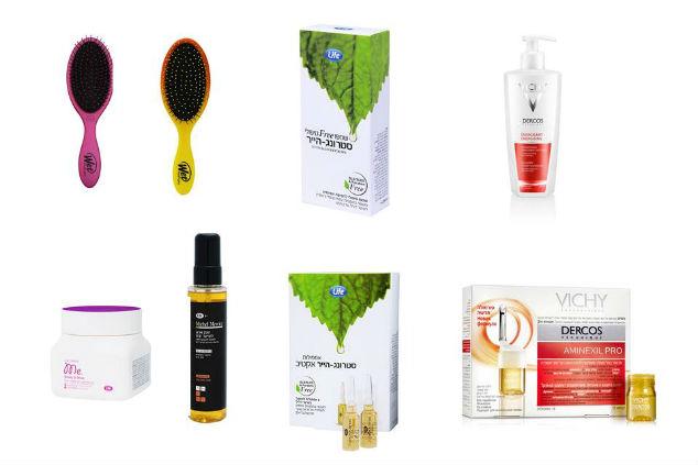 """מוצרים לטיפול ולטיפוח השיער (צילום: יח""""צ)"""