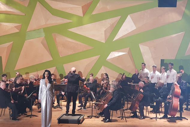 דנה אינטרנשיונל והתזמורת (יחצ)