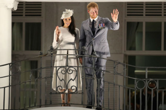 הארי ומייגן צילום: Chris Jackson/Getty Images