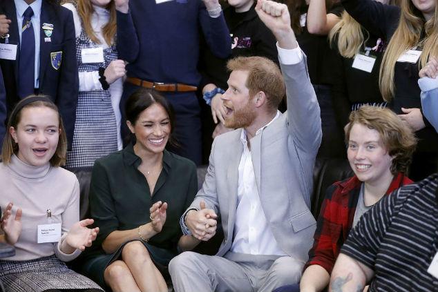 הנסיך הארי ומייגן Photo by Chris Jackson/Getty Images)