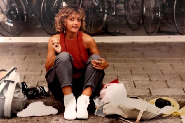 גילי, אחות של שרון פטיר צילום אלבום פרטי