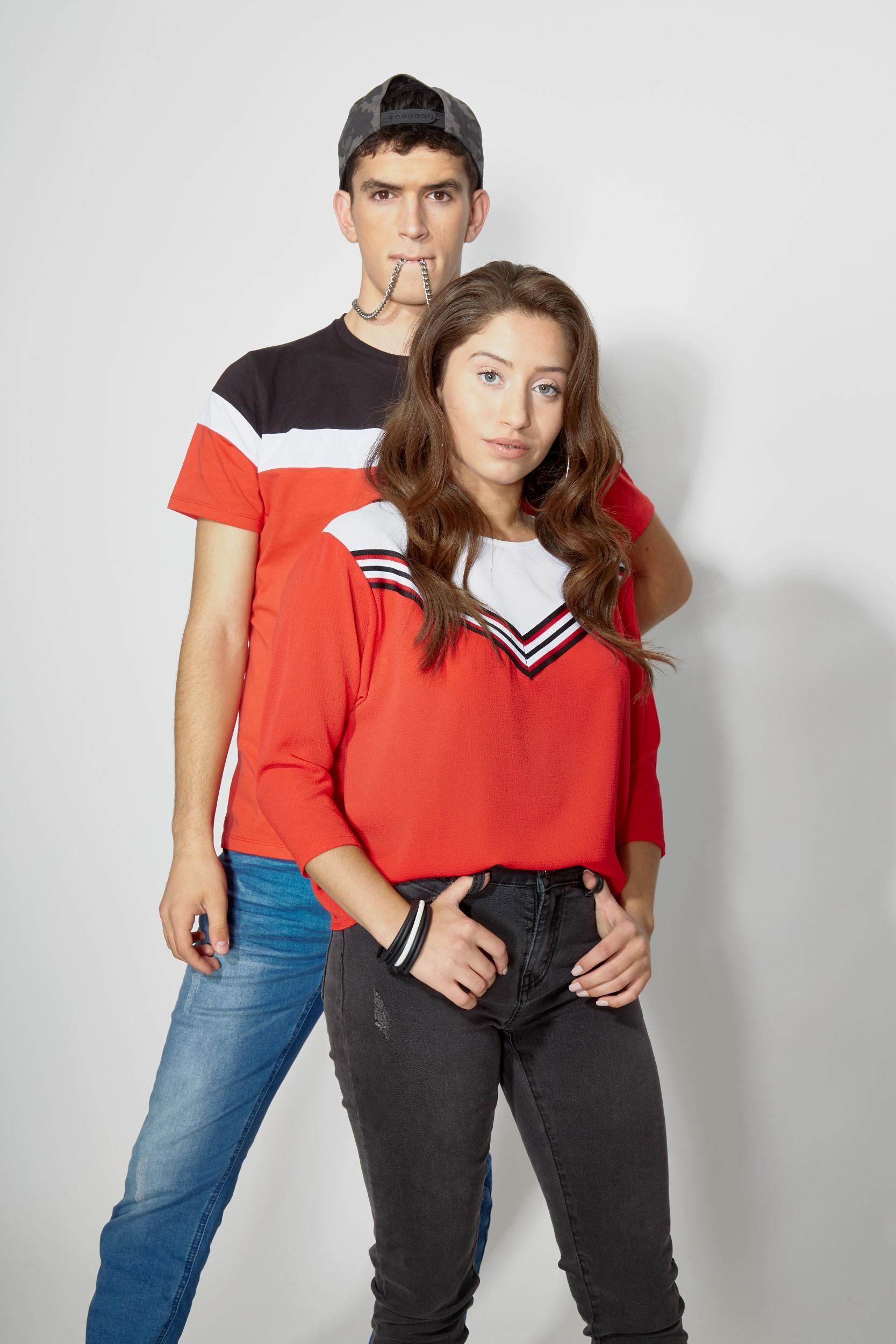 TNT- קולקציית חורף- חולצת נערות 109.90 שח, ג'ינס נערות 169.90 שח, חולצה גברים 129.90 שח, ג'ינס גברים 249.90 שח צילום dvision