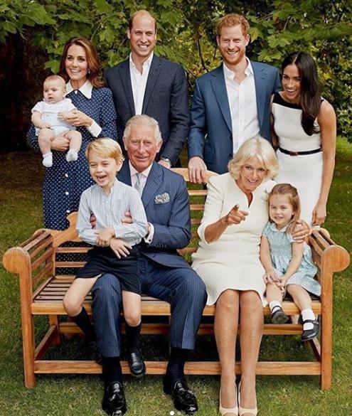 משפחת המלוכה צילום אינסטגרם