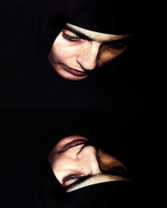 אישה פנים מול פנים צילום ליאת מייה לומברוזו