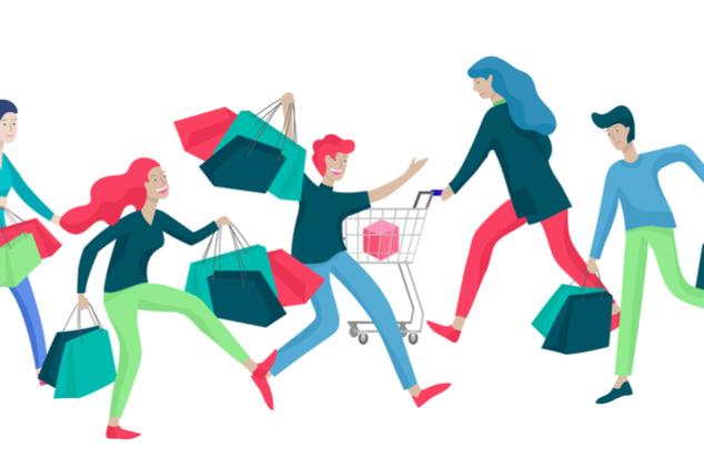 תנועה חריגה בחנויות (שאטרסטוק / Merfin)