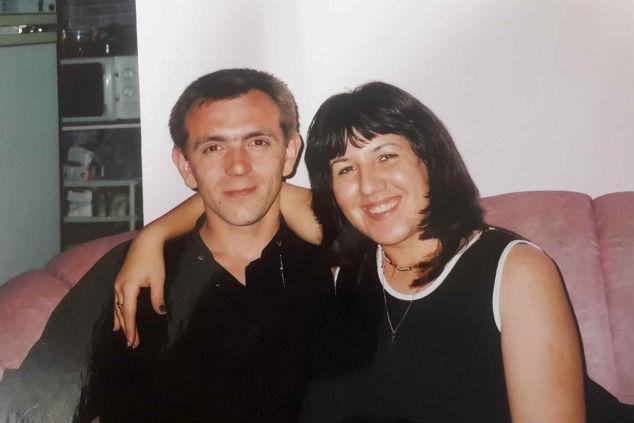 רומן זדורוב ואשתו צילום: אלבום פרטי
