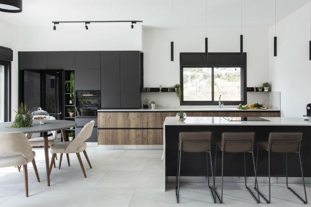 עיצוב מטבח: דועאא אעמאר, צילום:סוזי לוינסון