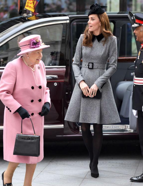 המלכה אליזבת' וקייט צילום  Karwai Tang/WireImage