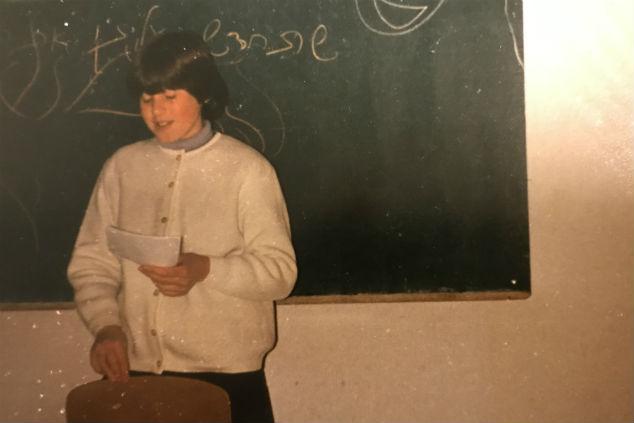 שרי גור ילדות צילום אלבום פרטי