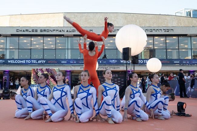 אירוע קבלת הפנים לאירוויזיון בהבימה Photo-by-Guy-Prives-Getty-Images