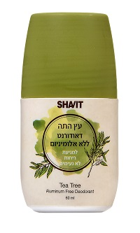 דאודורנט עץ התה מבית SHAVIT מחיר 39.90 שח צילום אפרת אשל