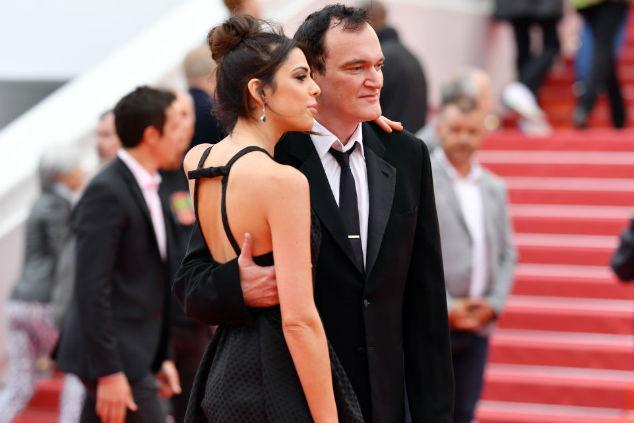 דניאלה פיק וקוונטין טרנטינו צילום Pascal Le Segretain/Getty Images