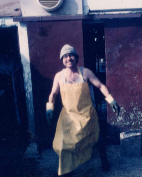 גדעון רז ברפת, בצעירותו (אלבום משפחתי)
