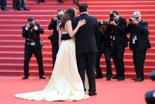 דניאלה פיק וקוונטין טרנטינו צילום David M. Benett/Dave Benett/Getty Images
