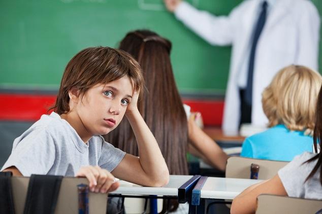 ילד בכיתה shutterstock By Tyler Olson