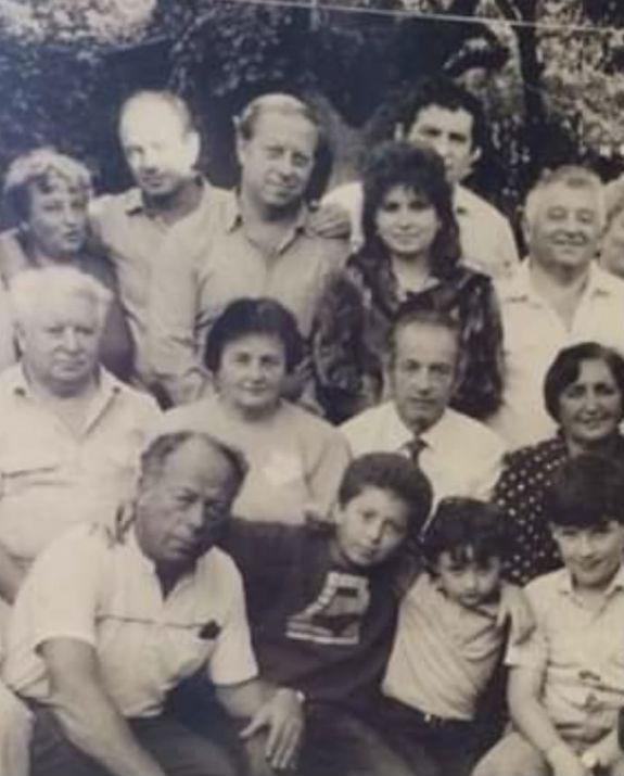 דיאנה לוונט צילום אלבום משפחתי