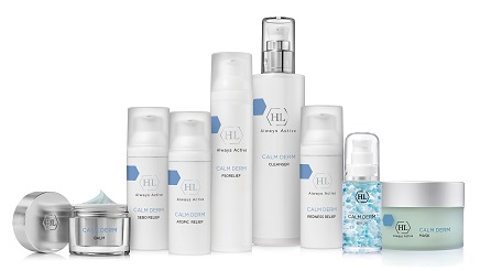 חברת HL- סדרת קאלם דרם להקלת תסמיני העור הרגיש ומחלות העור- צילום אורי גרון