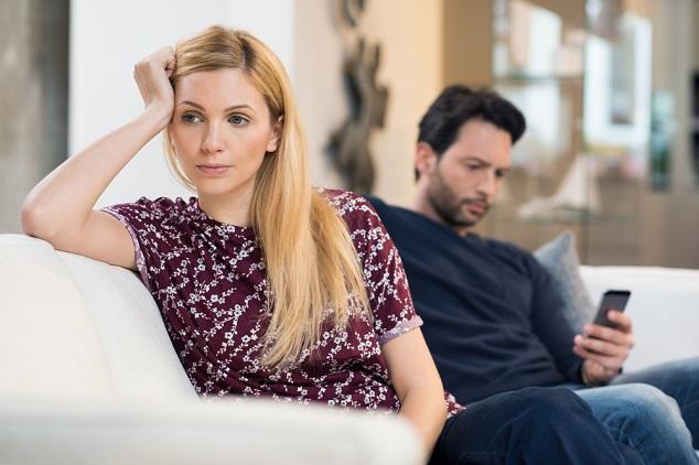 איש ואישה לא מדברים shutterstock By Rido
