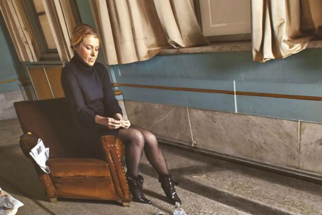 כריסטינה דה מידל. צילום קרין שור