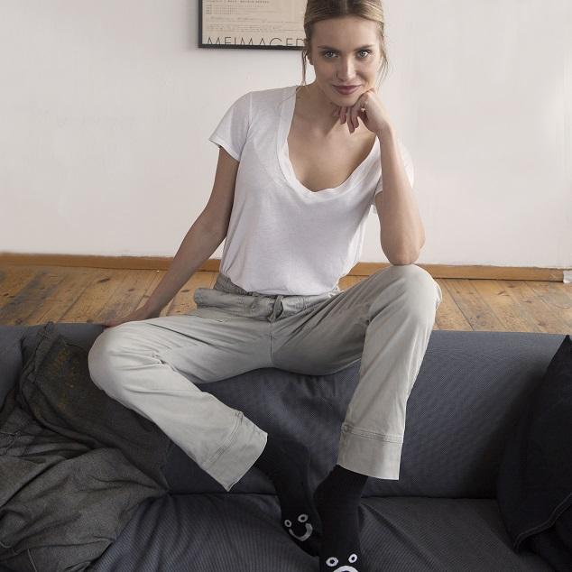 מותג המכנסיים TAMU ליריד שופוני. צילום: רוני פוקס