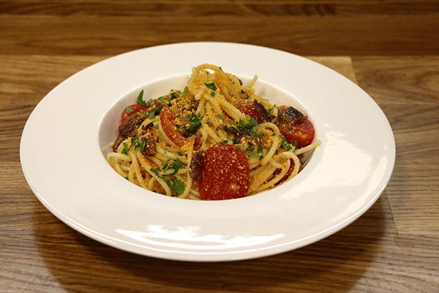 פסטה אלה מוליקה Pasta alla mollica (צילום יחצ דיפלומט)