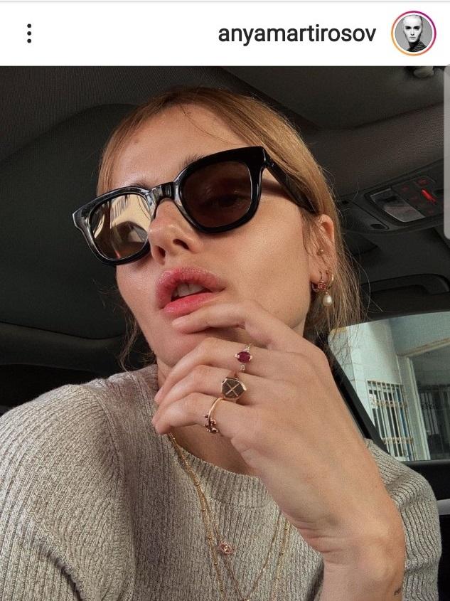 אניה מרטירוסוב אינסטגרם