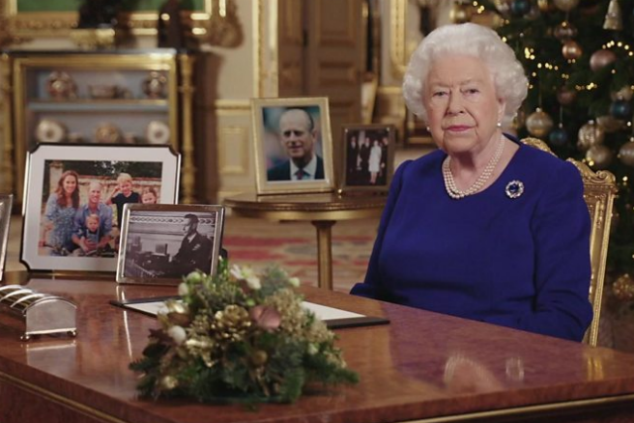 המלכה אליזבת צילום מסך