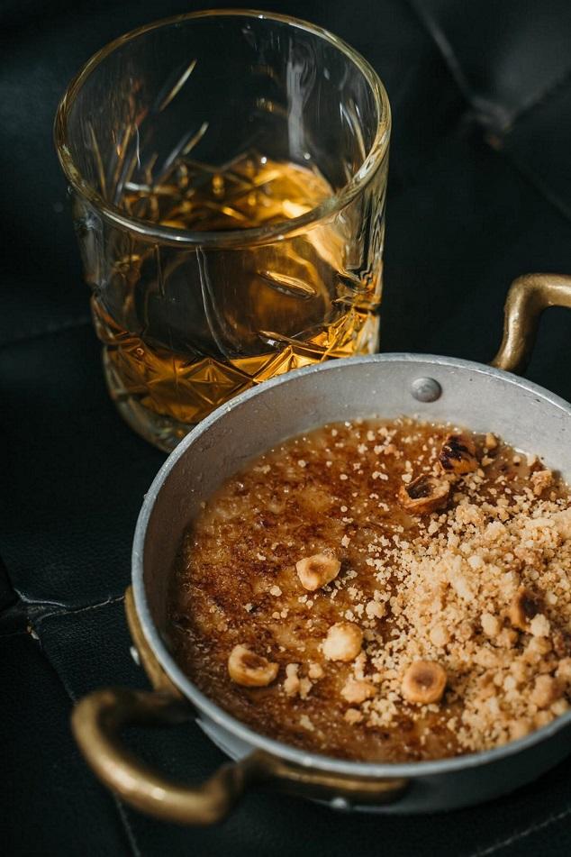 פסאדה בורליזו בורלה נוגט עם קרמבל אגוזי לוז 38שח צילום ספיר קוסה