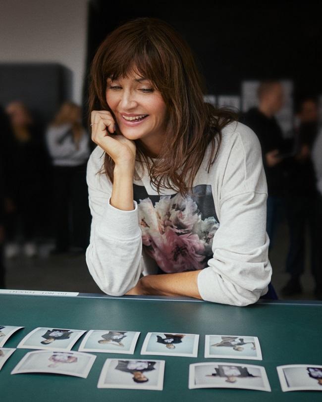 Helena Christensen x H&M צילום הנס מוריץ