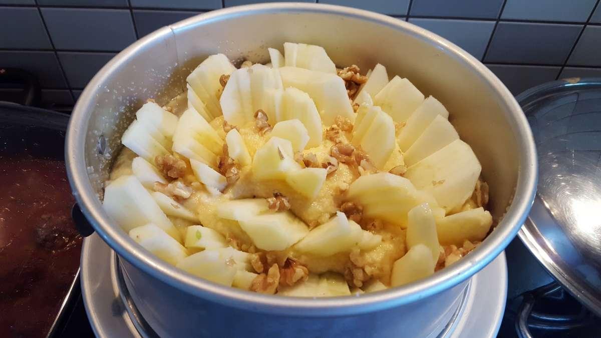 עוגת תפוחים2