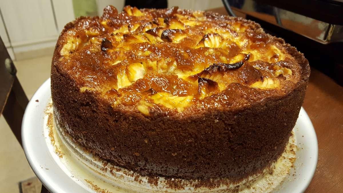 עוגת תפוחים3