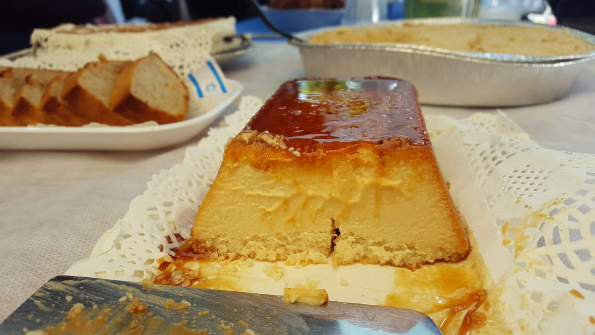 עוגת גבינה וקרמל2